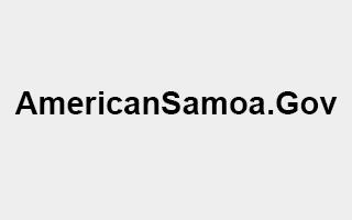 American Samoa - Official Website