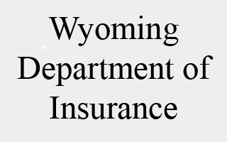 Wyoming - Insurance Department